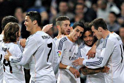 El Real Madrid pone la directa y se va volando hacia el título de Liga