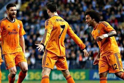 El Real Madrid, sin apenas chispa y bastante desteñido, vence a un impetuoso Málaga y sigue líder