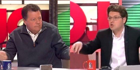 """Alfonso Rojo a Fernando Berlín: """"¿En qué sórdida pizzería has trabajado? Eres un analfabeto"""""""