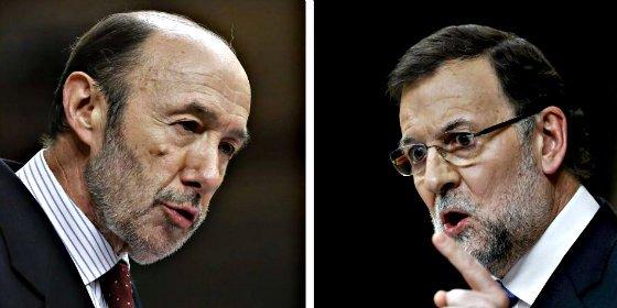 Rubalcaba pide parar la chapuza de la Lomce y Rajoy afea el inmovilismo del PSOE