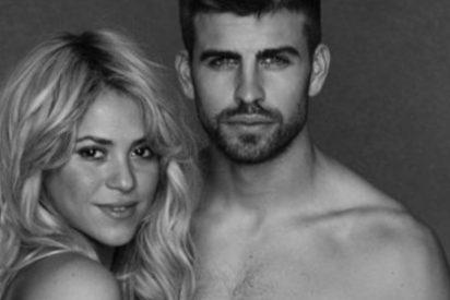 Cazados Shakira y Piqué visitando una iglesia