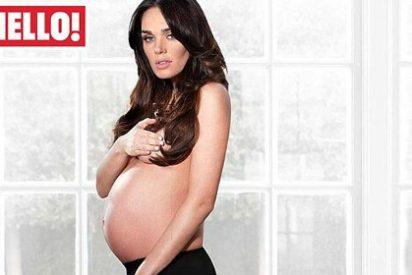 La hija del multimillonario dueño de la F1 se desnuda embarazada