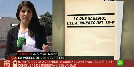 [Vídeo] La celebración del 23F de Tejero y su hijo en Valdemoro incluyó una exhibición de armas