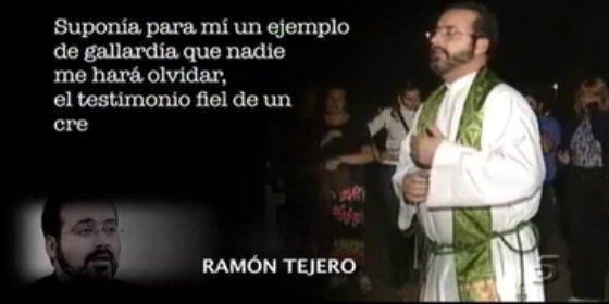 Al hijo cura de Tejero se le atraganta el rancho que le ha costado el puesto a su hermano, e invoca a Satanás
