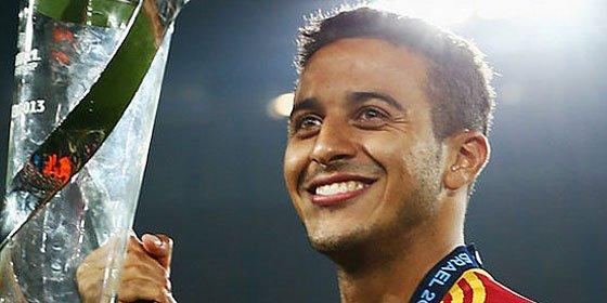 Thiago twittea tras la lesión que puede apartarle del Mundial