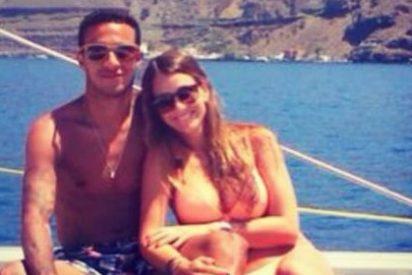 Así anima la novia de Thiago al jugador del Bayern tras su lesión