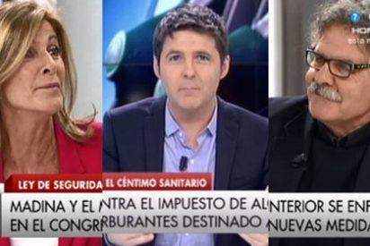"""Carmen Tomás contra las encerronas de Cintora: """"A mí me la hizo con Tardá y luego no te defiende"""""""