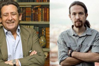 Ussía llama cobardes a los empresarios de medios que dan espacio a Pablo Iglesias