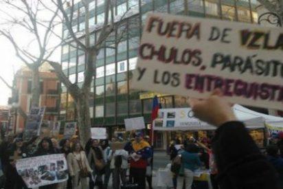 "Grito venezolano en Palma contra la dictadura chavista ""a la cubana"" de Maduro"