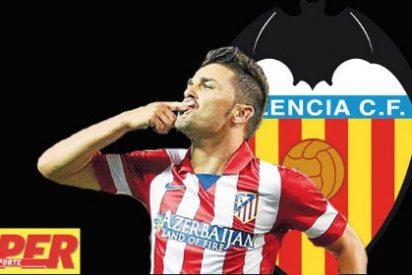 El Valencia sigue negociando con Villa