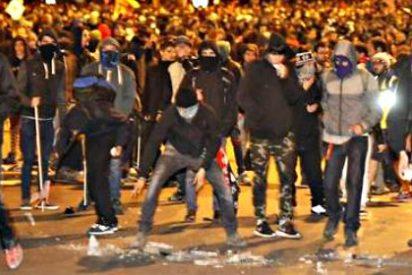 Los violentos de la izquierda 'alucinada' hieren a 50 policías y arrasan el centro de Madrid
