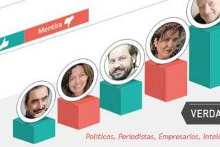 'Verdad-Mentira': políticos, empresarios, periodistas, intelectuales y artistas bajo la lupa ciudadana