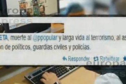"""La Guardia Civil corta el apestoso aliento a ETA en Internet: """"Vuestros muertos son nuestra alegría"""""""