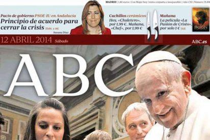 Polémica portada del Papa en ABC