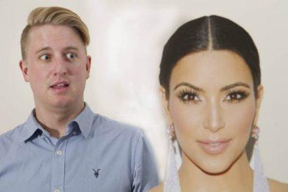 A un joven le da tanto asco el culo de Kim Kardashian que cada vez que lo ve vomita