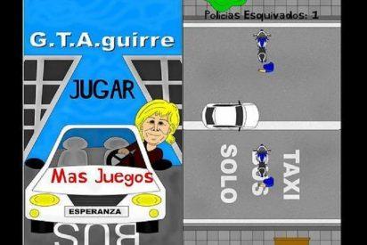 El que no corre, vuela: Crean un videojuego 'móvil' para ayudar a Aguirre a huir con más soltura