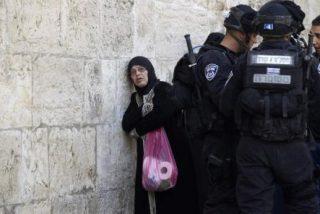 Granadas y piedras en Jerusalén