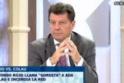 """Alfonso Rojo sobre Ada Colau: """"Esta señora ha defendido ir a la puerta del domicilio de los políticos a llamarles 'hijos de puta y ladrones'"""""""