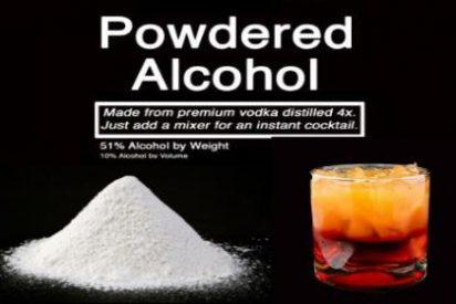 Llega el alcohol en polvo: ya no hará falta ni molestarse en beber...¡directamente por la napia y hasta el fondo!