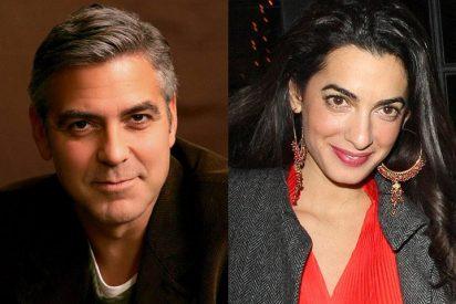 George Clooney lo deja todo para casarse con la guapa abogada de Julian Assange