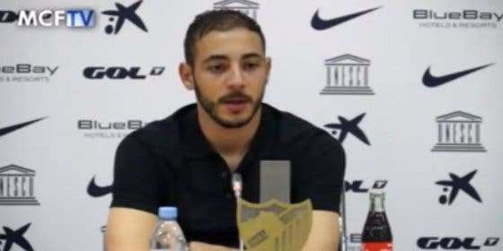 Jugará un año más en el Málaga