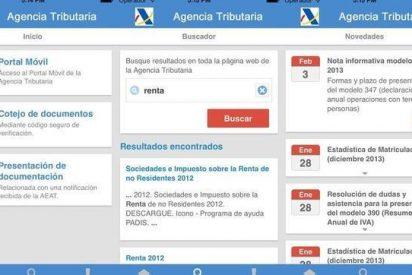 Ya puede obtener el borrador de la declaración de la Renta con una aplicación para iOS y Android