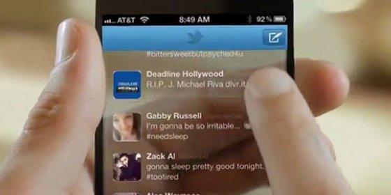 Apple presenta una solicitud para patentar un iPhone transparente que permita escribir mientras se camina