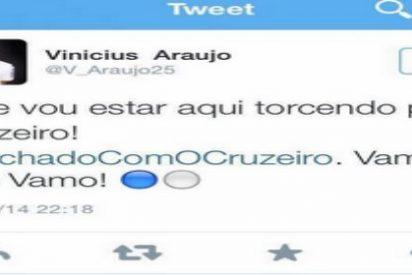 Vinicius Araujo la `lía´ en Twitter