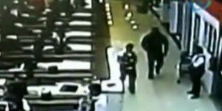 El vídeo del asesinato de la amante de 'El Cacas' en el súper