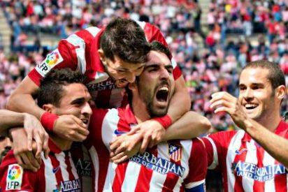 El Atlético de Madrid del 'Cholo' Simeone sufre pero mantiene el liderato de la Liga