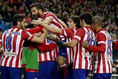 El Atlético 'golea' al Madrid y al Barcelona en Champions