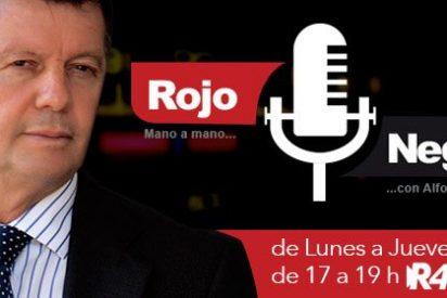 Alfonso Rojo se estrena en la radio con 'Rojo y Negro' en Radio 4G