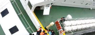 El vídeo del capitán que huye con los pantalones bajados dejando a sus pasajeros condenados a muerte