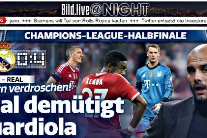 """Prensa internacional: """"El Real Madrid fue la 'Bestia Blanca' en Múnich"""""""