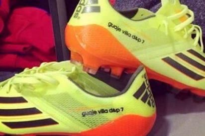 Así son las nuevas botas del 'Guaje' Villa