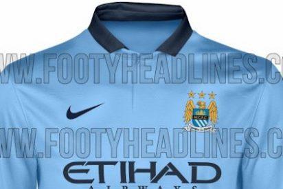Así será la camiseta del City la próxima temporada
