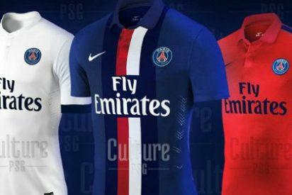 Así vestirá el PSG la próxima temporada.