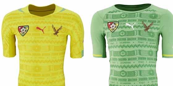 Togo tiene la camiseta... ¿más fea de las selecciones?