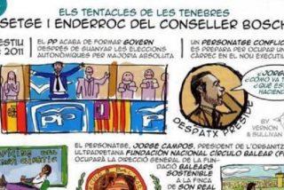 El cómic 'tenebroso' de la Asamblea de Docentes y de Crida, hace que la FNCB y el IPFB pongan el grito en el cielo