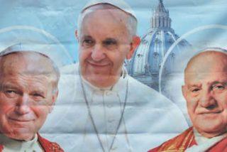 Ratzinger acompañará a Francisco en la canonización de Juan Pablo II y Juan XXIII