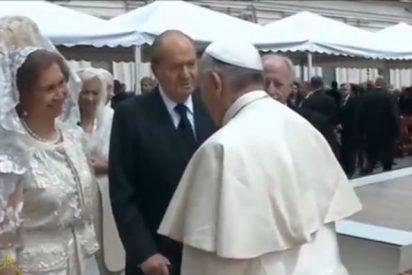 Las confidencias de Don Juan Carlos y Doña Sofía con el Papa
