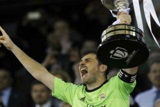 """Florentino Pérez: """"Casillas va a seguir, y Diego López también"""""""