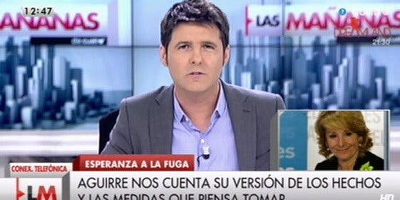 """Esperanza Aguirre frena en seco a Cintora: """"Usted me quiere condenar a cuatro años de cárcel o más"""""""