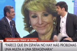 Más madera: Cintora invita a su amigo Revilla para que siga apaleando a Esperanza Aguirre