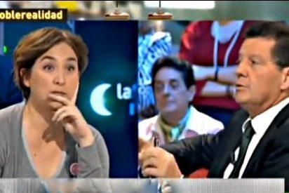 """Alfonso Rojo a Ada Colau: """"Pues para el hambre que dice usted estar pasando, la veo bastante gordita"""""""