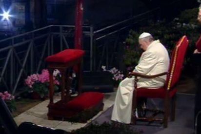 Francisco permanecerá en silencio durante el Via Crucis