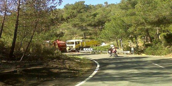 Imputan a un vecino de la zona de Es Cubells a raíz del incendio de Sant Josep