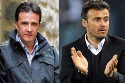 """José Ramón de la Morena carga contra Luis Enrique: """"Como entrenador no sabe hacer la O con un canuto"""""""