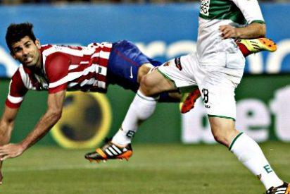 El Atlético de Madrid del 'Cholo' Simeone: Sufrir, sufrir, sufrir... y volver a ganar