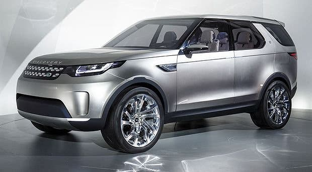 Land Rover Discovery Vision Concept, el todoterreno del futuro